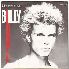 """Billy Idol 45t 7"""" Mony Mony + 3 (plays at 33rpm) france french pressing"""