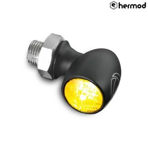 Kellermann Atto Motorcycle Motorbike LED Turn Signal Indicator  - Black