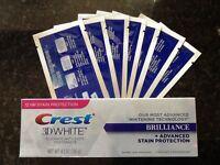 28 SUPER TEETH WHITENING STRIPS + CREST3D TEETH WHITENING TOOTHPASTE 4.1oz