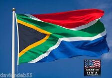 3x5 SOUTH AFRICA S African Heavy Duty In/outdoor Super-Poly FLAG BANNER*USA MADE
