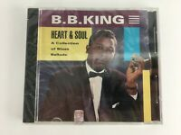 B B King Cd Heart And Soul CD Collection of Blues Album NEW SEALED