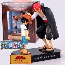 Anime ONE PIECE FIGURE Classic MEMORIES LUFFY & SHANKS 17 CM STATUE Toy Gift NIB