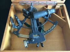 Leupold & Stevens 1945 US Maritime Commission Sextant In Case + Bonus Nautical