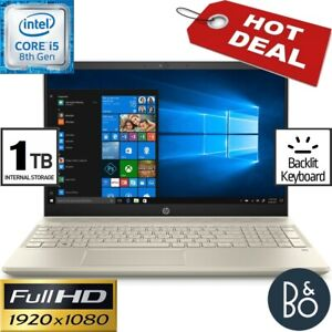 HP 15.6 Full-HD Gaming Laptop Intel i5-8250U 3.40GHz 24GB Ram 1TB Win10 B&O PLAY
