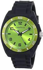 Caravelle Watch New York Men's 45A113 Analog Display Japanese Quartz Black