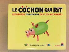"""MINI JEU DE SOCIETE PROMOTIONNEL / """"LE COCHON QUI RIT"""" DE VOYAGE / NEUF SCELLE"""