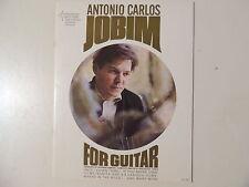 2 ANTONIO CARLOS JOBIM -ORIGINAL & MINT '60s SHEET MUSIC BOOKS- 32 & 32 PAGES