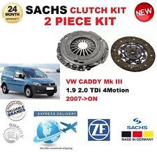 FOR VW CADDY III 1.9 2.0 TDi 4motion 2007-> SACHS 2 PIECE CLUTCH KIT OE QUALITY