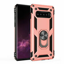 Samsung S10E Shockproof Military Phone Case Cover Armor 360 Stand Ring Holder