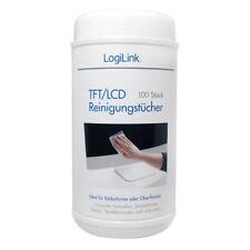 LogiLink Reinigungstücher Tücher TFT LCD Plasma Smartphone Tablet Alkoholfrei
