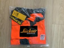 Snickers 3233 Hi-Vis Orange Holster Pocket Trousers, Class 2 Condition New