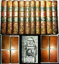 1728 Complete Drama William Shakespeare A Pope 10V Book Set Hamlet Romeo Macbeth