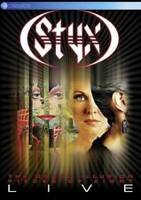 STYX - THE GRAND ILLUSION & PIECES OF EIGHT LIVE  DVD NEU