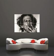 KEITH RICHARDS ROLLING STONES MUSICA Gigante Poster Art