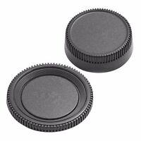 Plastic Body Front+Rear Lens Cap Cover For Nikon AF AF-S Lens DSLR SLR Camera CA