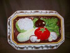 Vintage Jello Mold Wall Plaque Kitchen Decor Vegetables