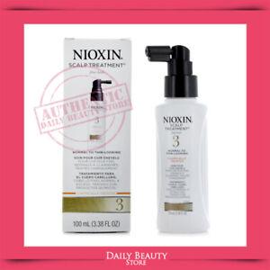 Nioxin System 3 Scalp Treatment 100ml 3.38oz NEW FAST SHIP