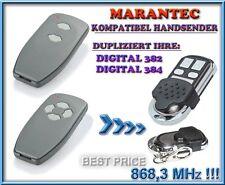 Marantec Digital 382 / Digital 384 868,3Mhz kompatibel Handsender, Ersatz, KLONE