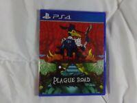 Plague Road Kickstarter Variant PS4 Playstation 4 LRG Limited Run Games # 72 NEW