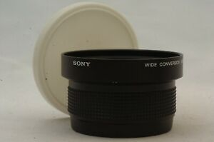 @ Ship in 24 Hours! @ Sony VCL-0746 Wide Conversion Lens X0.7 Made in Japan