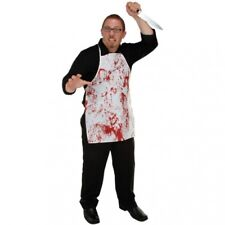 Halloween Horror Fabric Novelty Bloody Apron Halloween Costume Accessories