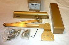 Lot of 6 Ingersoll Rand Falcon SC81 Door Closers Delayed Action DA 43453 BRASS