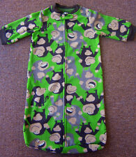 Sleeping Bags Baby Boys or Girls Sleepsacks CARTERS Cheeky Monkeys 0-5mths BNWT