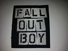 PUNK ROCK METAL MUSIC SEW ON / IRON ON PATCH:- FALL OUT BOY (a) PATRICK STUMP