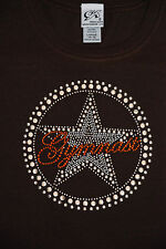*BRAND NEW WITH TAGS* GK ELITE GYMNASTICS TSHIRT~SZ CHILD L 14-16~BEDAZZLED~WOW!