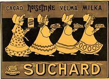 Suchard Cacao Noisettine Velma Milka 1908