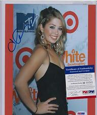 HEIDI MONTAG SIGNED AUTOGRAPH AUTO 8X10 PSA DNA CERTIFIED