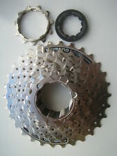 New silver Shimano 8 speed bike / cycle cassette 11-30 HG 41 - 8an