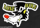 THE LONE WOLF ACES Sticker Decal Hot Rod Car Surfboard Surfing Van Ute Rat Fink