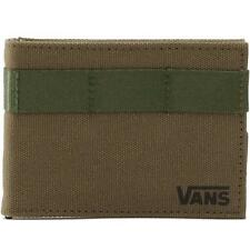 Vans Off The Wall Prescott Mens Green Bifold Wallet New NWT