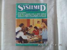 SYSTEME D N°371 DECEMBRE 1976 FOUR A RACLETTE ABRI POUR CARAVANING TOITURE  D79
