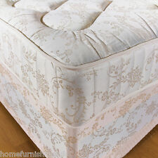 "*NEW* 4ft 6"" Double 10 INCH ORTHOPAEDIC DEEP QUILTED DAMASK MATTRESS"