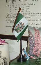Old-Style Rhodesian Desk Top Flag Rhodesia Afrika White-Rule History Empire bn