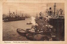 POSTCARD  GERMANY   HAMBURG   The  Port