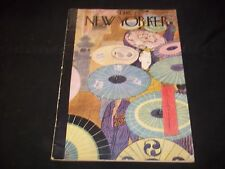 1947 JUNE 7 NEW YORKER MAGAZINE - BEAUTIFUL FRONT COVER FOR FRAMING- J 1430