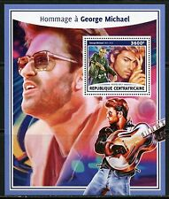 Stamps Music Congo 7544-2018 George Michael Perf Sheet Of 4 Values Unmounted