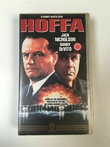 VHS Tape - Hoffa - Jack Nicholson, Danny DeVito