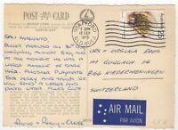 1975 Sep 12th. Picture Postcard Air Mail. Stafford, QLD to Niederweningen, Switz