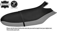 Noir & gris personnalisé pour sea doo rx 00-06 automotive vinyle housse de siège + sangle