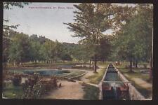 Postcard ST PAUL MN Fish Hatcheries 1907 ?