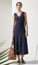 Trenery/Country Road Linen Cotton Bias Cut Midi Dress Size S