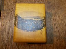 ANTIQUE MAUCHLINE SMALL BOX WINDERMERE FROM ELLERAY