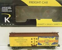 ✅K-LINE BY LIONEL IGA STORES WOOD SIDE REEFER CAR NEW! O SCALE TRAIN SIDED