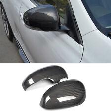 For Toyota Reiz 10-16 Remplacement Carbon Fiber Mirror Cover Cap Refit 2PCS