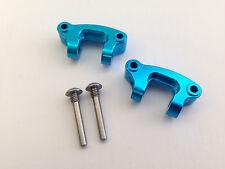 Fumi Aluminum Front Castor Block (2) for Tamiya DT-03 - 23308bb (LIGHT BLUE)