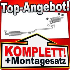 Auspuff TOYOTA COROLLA (E10) 1.3 XLI 75PS Liftback Stufenheck Kombi +Rohr N09